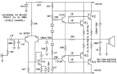 Site Blogspot   Price Furniture Online on Audio Kit Amplifier Circuit Diagrams  Two Channel  Stereo  Universal