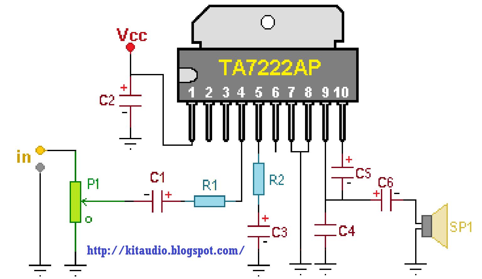 Small 6watt Power Amplifier Wiring And Diagram Usb Powered Audio
