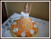 Kek Barbie comel