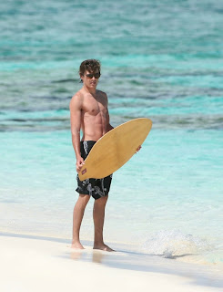 Zac Efron in The Caribbean Islands