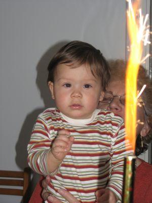 Zsombi 1 éves