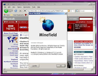 FireFox Minefield 4.0a1pre - Thinstalled
