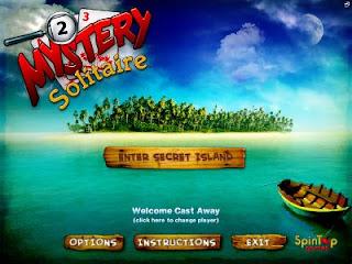 Mystery Solitaire: Secret Island Portable