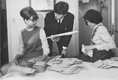 fan mail, fan letter, fan, letter writing, correspondence, Beatles, music beatlemania,
