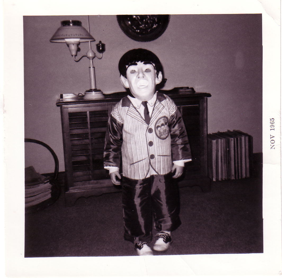 I Know Am A Few Months Behind For Posting Halloween Photo But How Cute Is This Of 1965 And Youngster Dressed As George Harrison