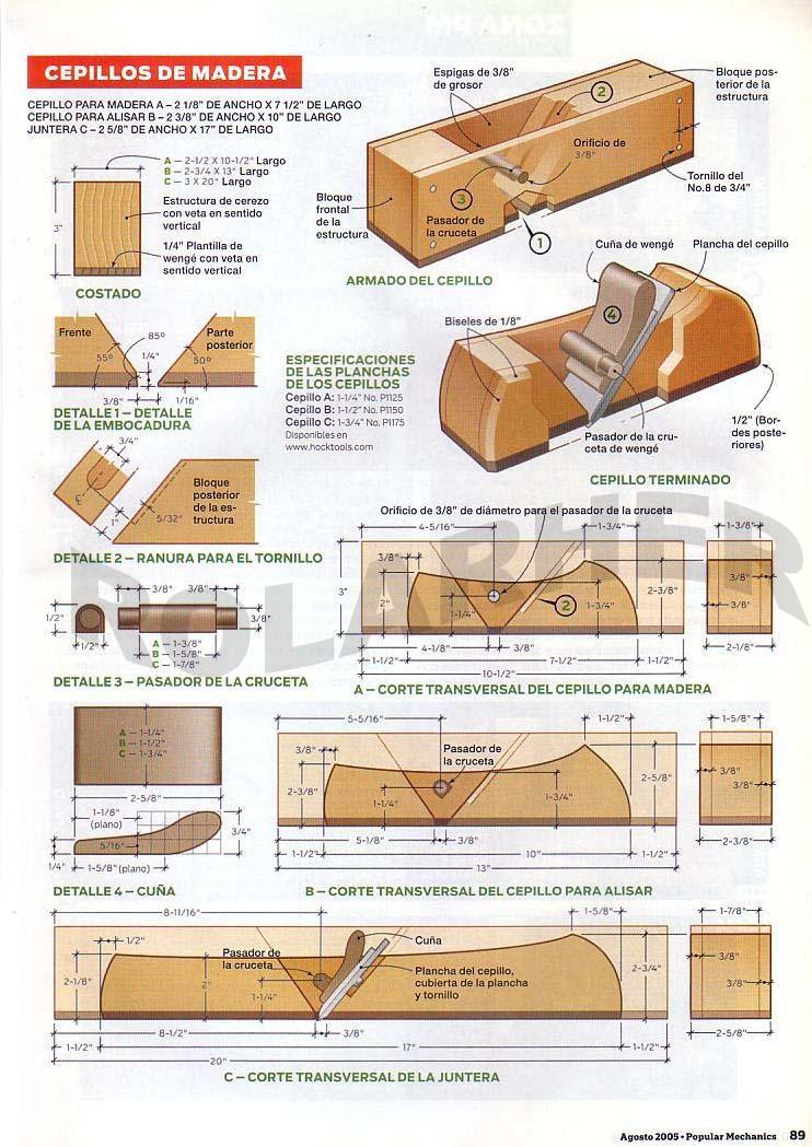 Historia del cepillo de madera - Cepillo de madera ...