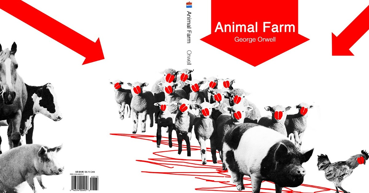 a plot and setting overview of george orwells animal farm Animal farm, an english farm run by animals when orwell saw a kid whipping a horse, he had an idea: it struck me that if only such animals became aware of their strength we should have no power over them, and that men exploit animals in much the same way as the rich exploit the proletariat.