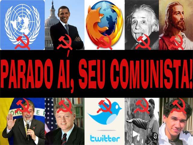 Parado aí, seu Comunista!