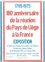 L'affiche annonçant l'exposition