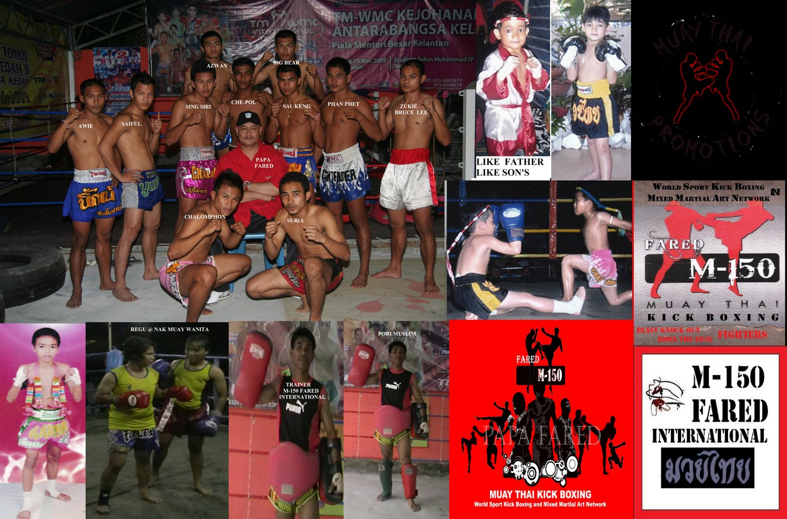 M-150 FARED MUAY THAI &amp; SPORT