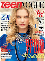 Teen Vogue Cover Girl - Taylor Swift