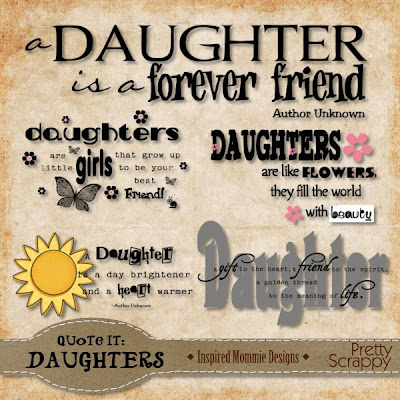 Results For Scrapbooking Quotes About Daughters