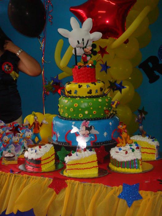 Pasteleria Padilla: Mickey Mouse ClubHouse, Piezas Separadas