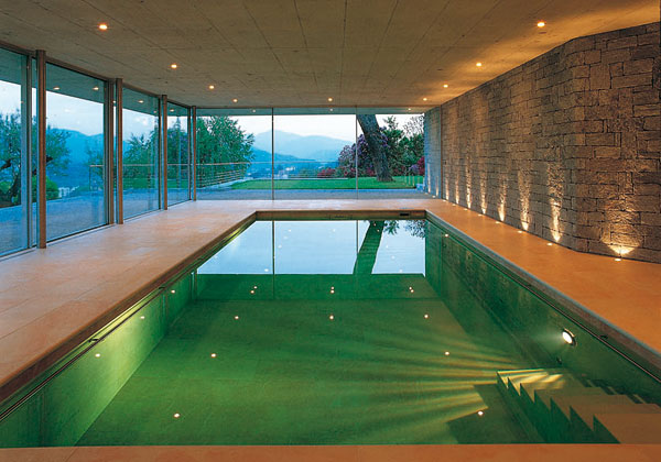 Arquitetos on line as mais belas piscinas da pen nsula - Case bellissime con piscina ...