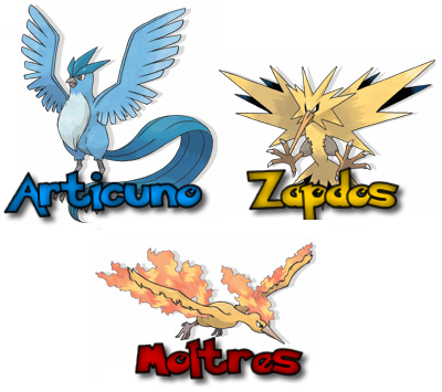 guia de pokemon legendarios: