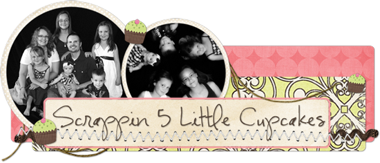 Scrappin 5 Little Cupcakes Blog Design