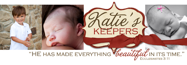 Katie Keepers Blog Design, Custom Blog Design