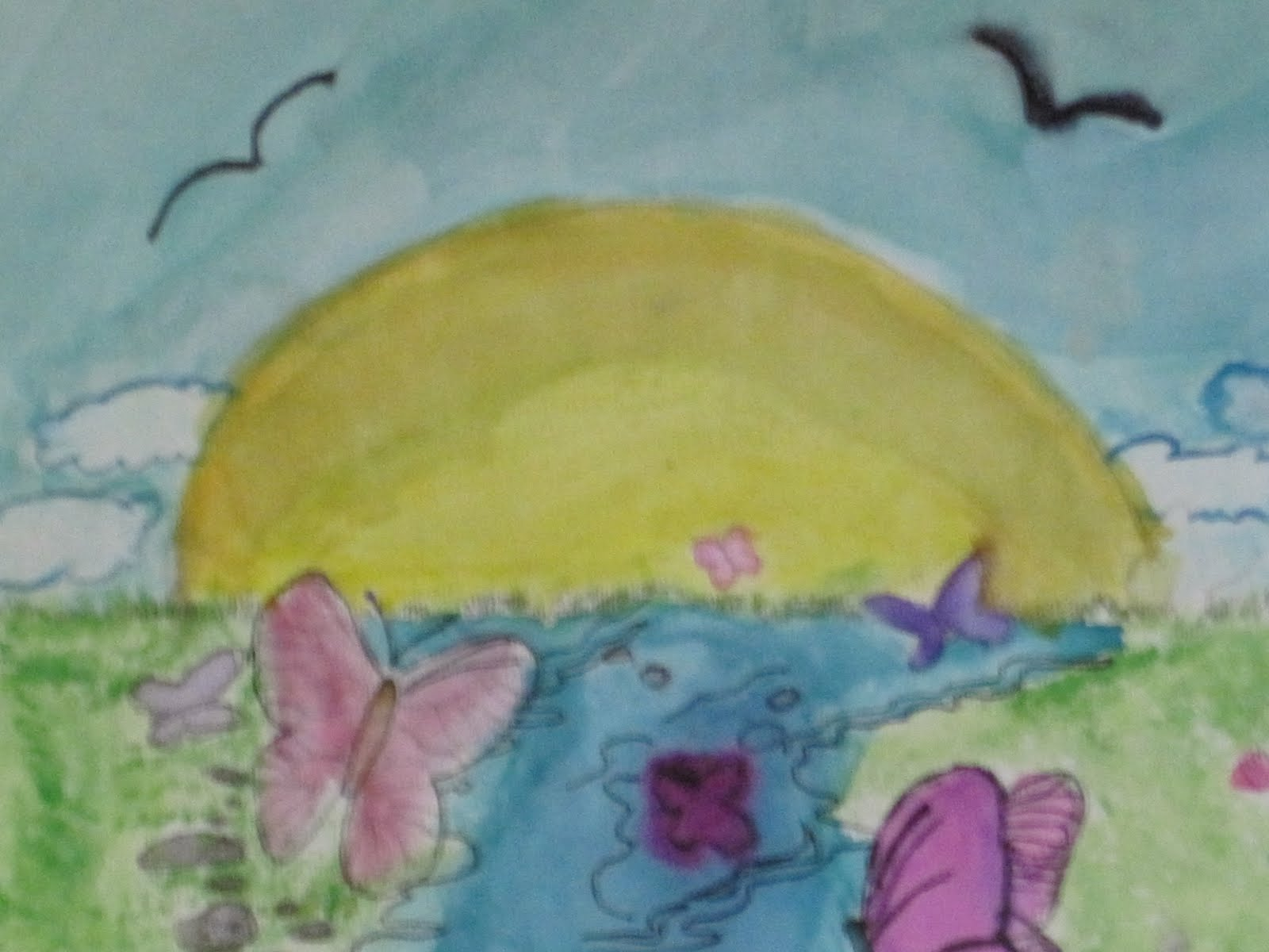 News from Lakeview Jr.High Art Room: Color Theory Unit and Color ...