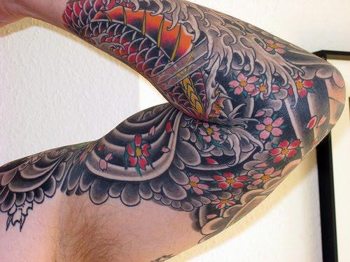 Japanese Background Tattoo - LiLz.eu - Tattoo DE