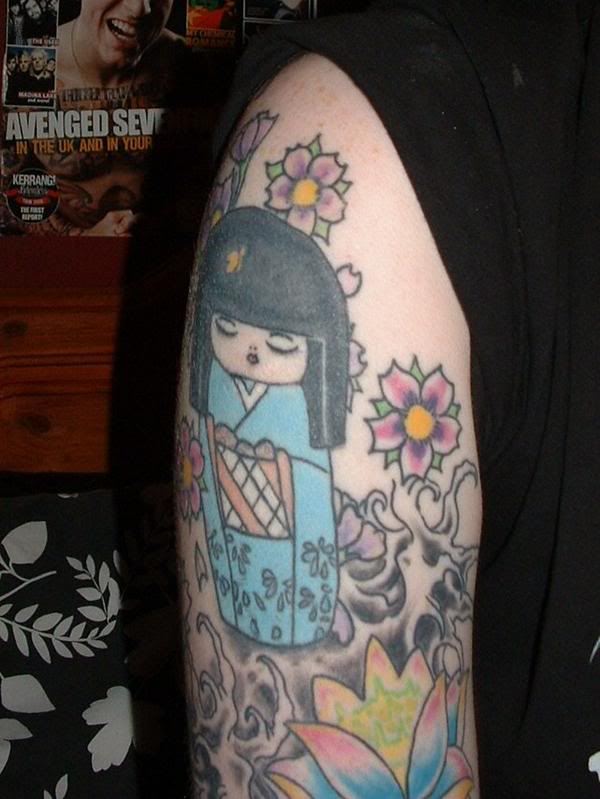Amazing Japanese Tattoo Sleeve