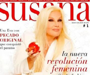Susana y yo susana premiada por su revista primicias ya for Espectaculo primicias ya