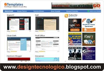 Btemplates melhores templates blogger
