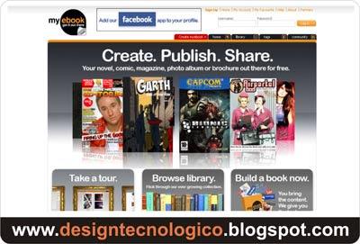 Criar publicar trabalhos internet