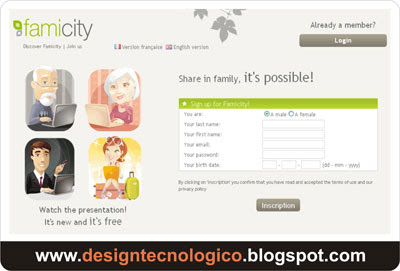 Construir árvore genealógica online