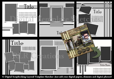 PSD Template Set 2