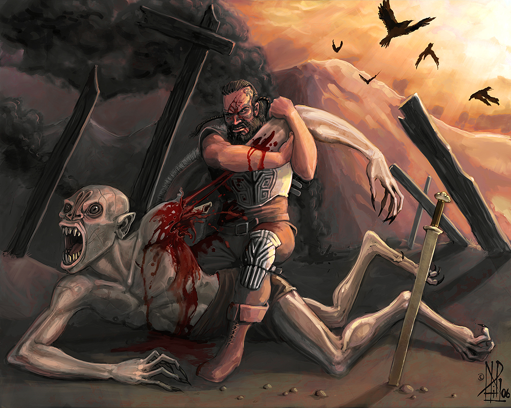 the battles of beowulf against grendel After beowulf defeats grendel's mother, how long does he rule over the geats.