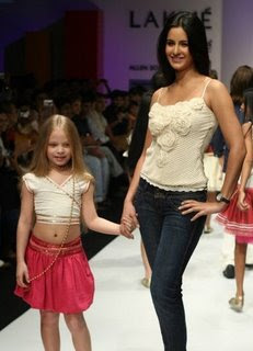 Katrina in a Fashion Show