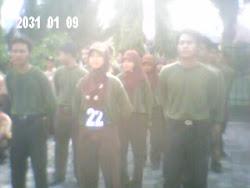Gerak Jalan HUT TNI 2008 di KODIM JOMBANG