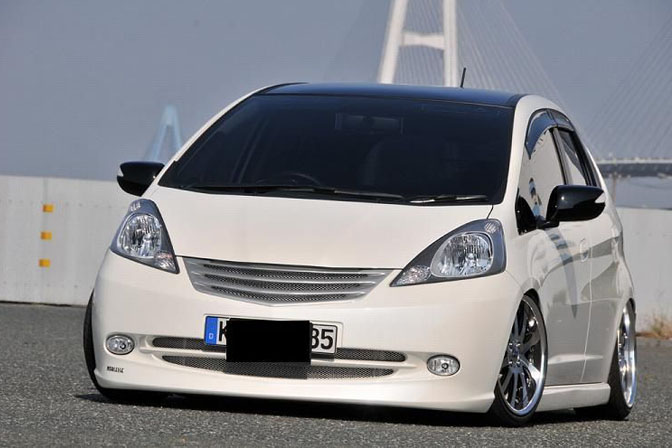 auto cars project honda fit