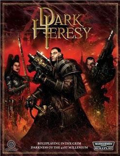 Warhammer 40.000 Dark heresy Portada