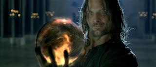 Aragorn y el Palantir