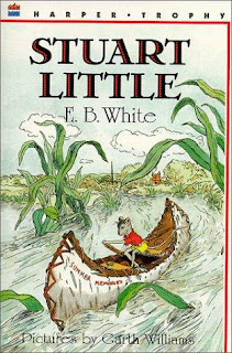 Book Cover Art for Stuart Little by E.B. White
