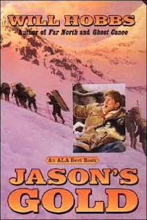 Book Cover Art for Jason's Gold, by Will Hobbs