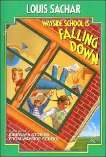 Book Cover of Wayside School is Falling Down by Louis Sachar