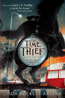 Book Cover of The Time Thief by Linda Buckley-Archer