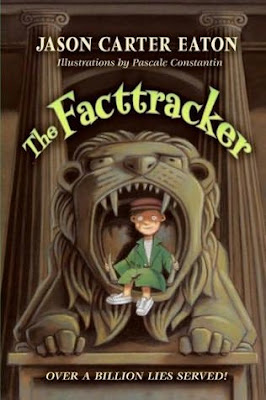 Cover art of The Facttracker by Jason Carter Eaton