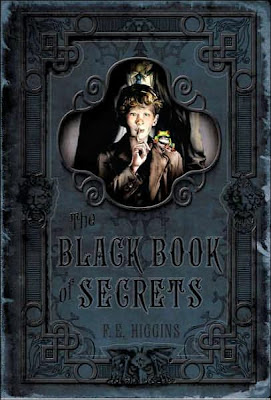 Cover art of The Black Book of Secrets by F.E. Higgins