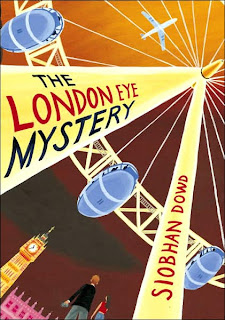 Book Cover Art for The London Eye Mystery by Siobhan Dowd