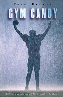 Book Cover Art for Gym Candy by Carl Deuker