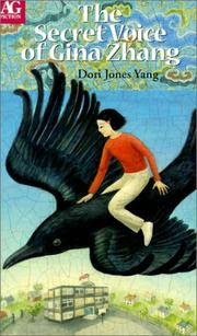 Book Cover Art for The Secret Voice of Gina Zhang by Dori Jones Yang