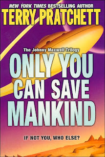Book Cover art for Only You Can Save Mankind by Terry Pratchett