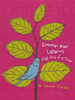 Book Cover Art for Emma-Jean Lazarus Fell Out of a Tree by Lauren Tarshis