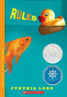 Book Cover Art for Rules by Cynthia Lord