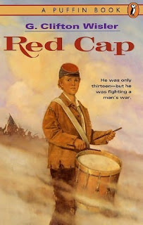 Book Cover Art for Red Cap by G. Clifton Wisler