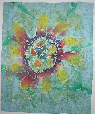 zorica, đuranić, paintings, batik, canvas, art, floral, sunflower