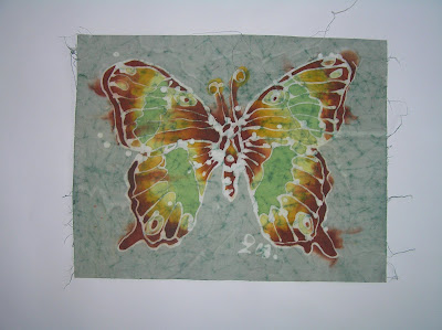 zorica, duranic, đuranić, batik, canvas, paintings, gallery, butterfly